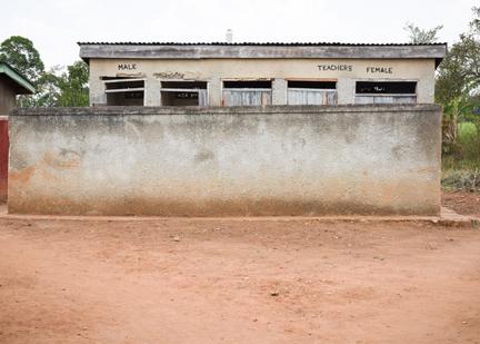 Original Girls' latrines