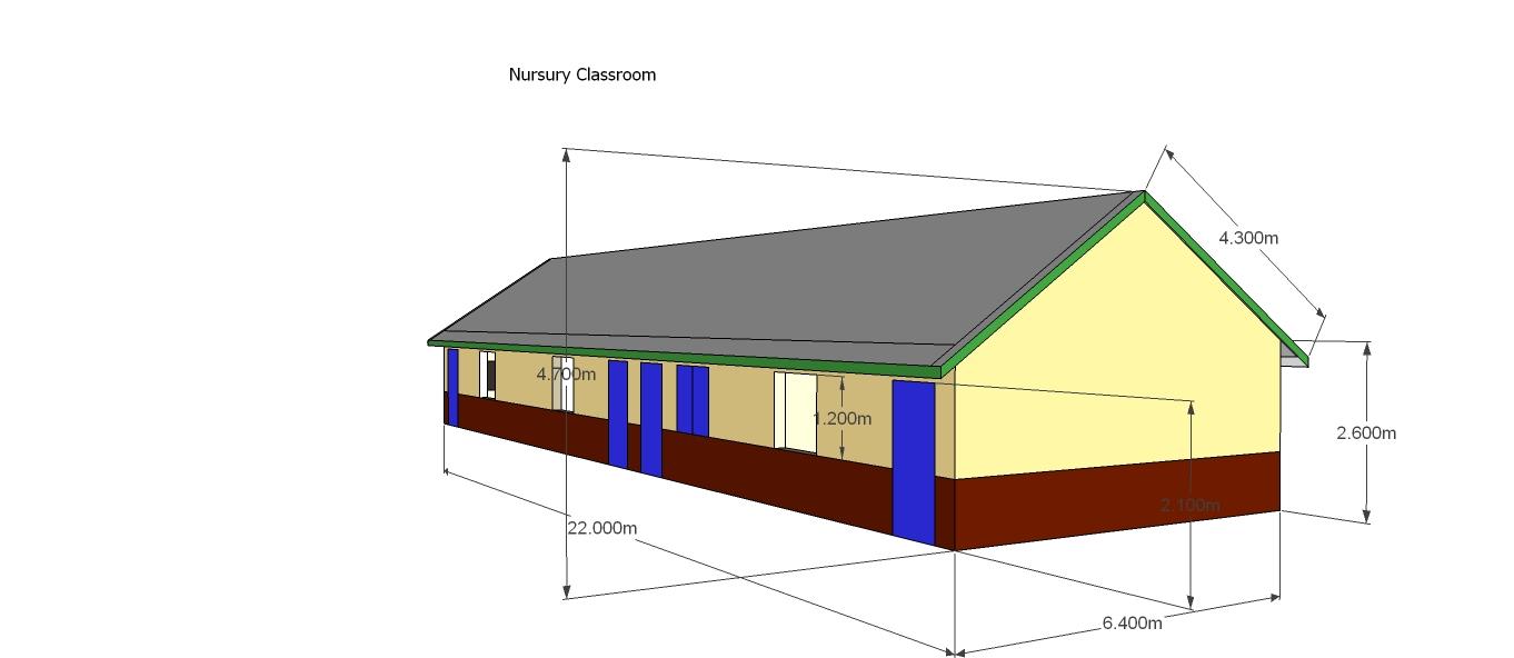 Nursery School Classrooms- 3D