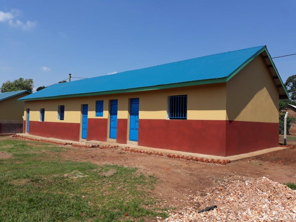 Nursery school classrooom block