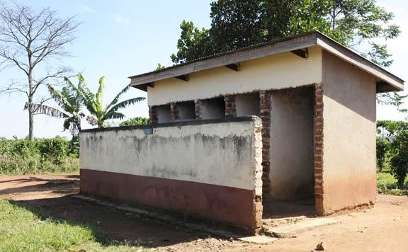 Ugandan 5 x latrines
