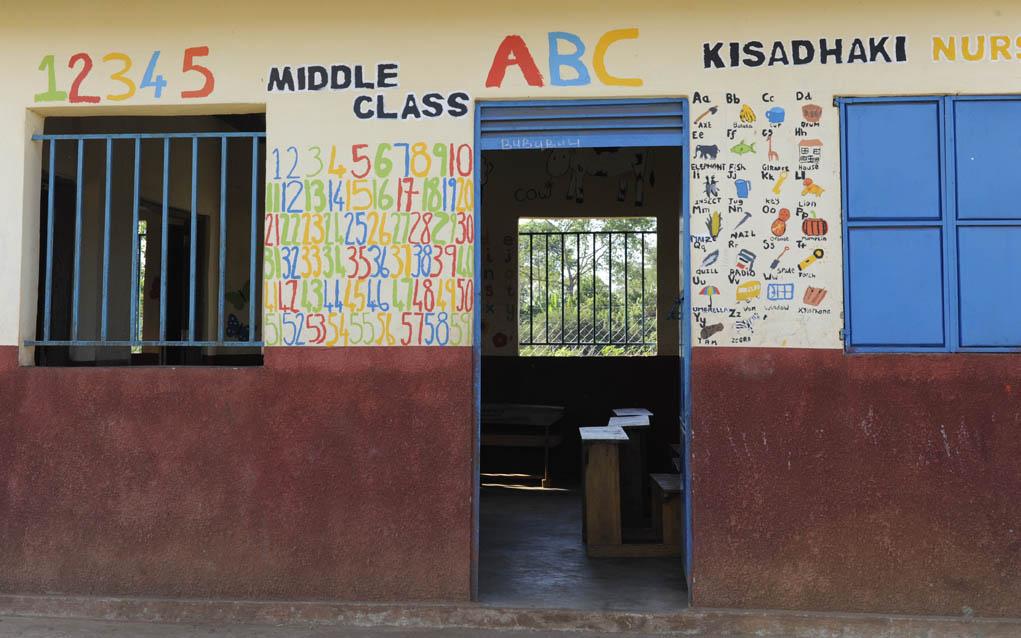 Nursery school painted by SkillForce volunteers