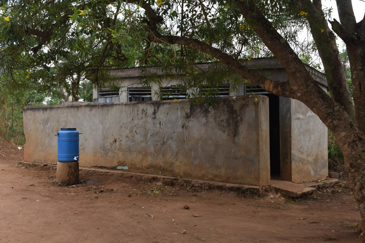 5 boys latrines needing renovation
