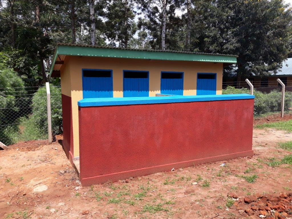 Muguluka NS - Nursery school latrines