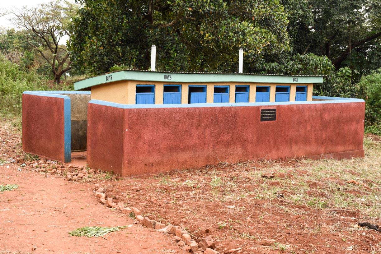 New boys latrines