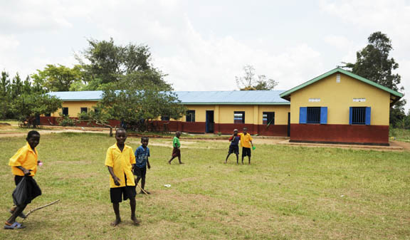 Renovated 5 classrooms plus offices