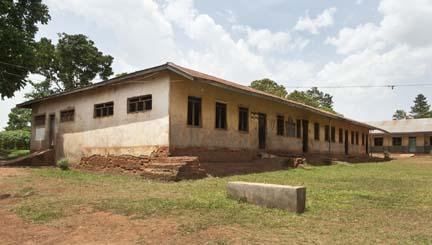 4 classroom block before renovation