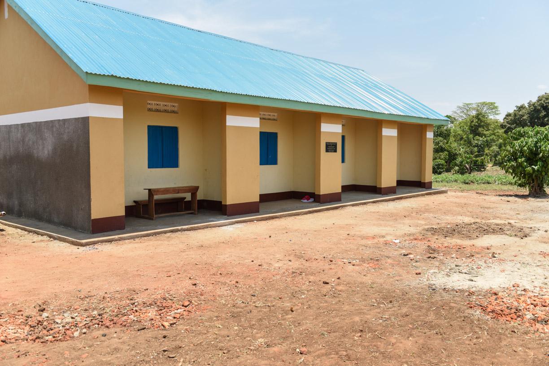 New teachers' houses