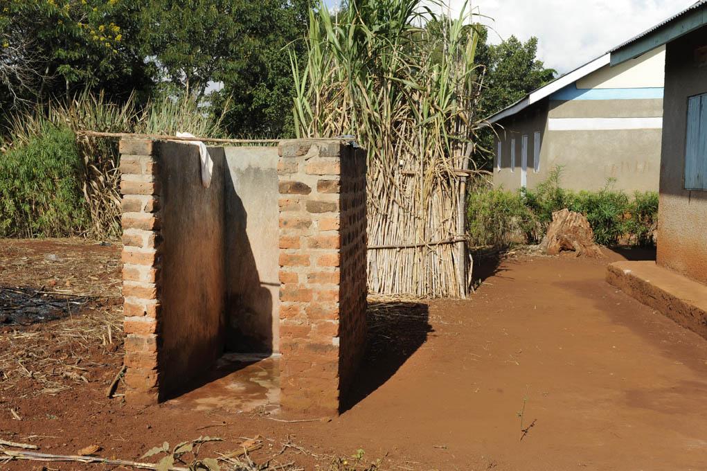 Ugandan teachers' washroom
