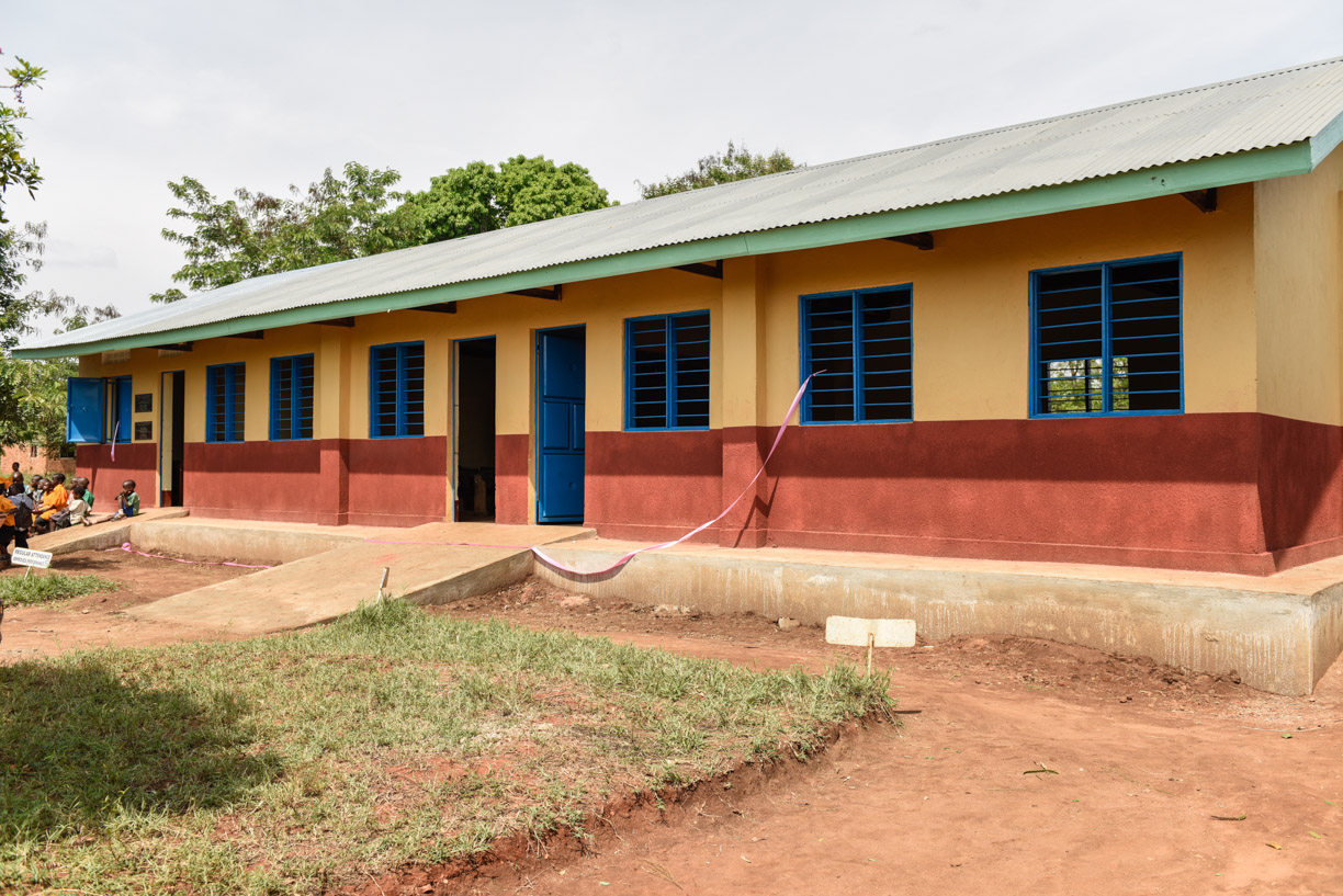 renovated 2 classroom block with staffroom added