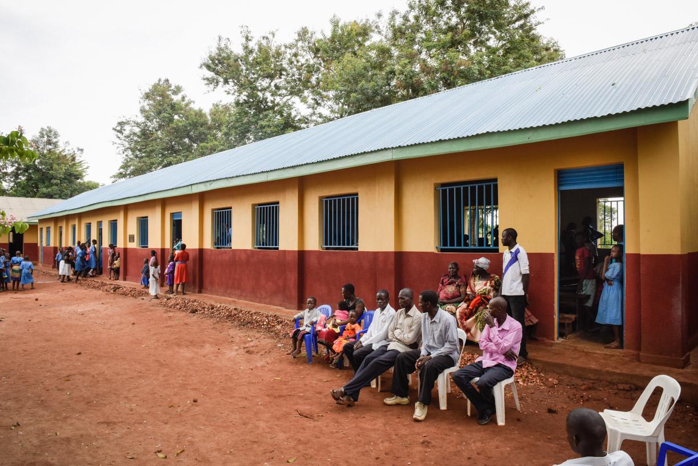 Block of renovated 4.5 classrooms