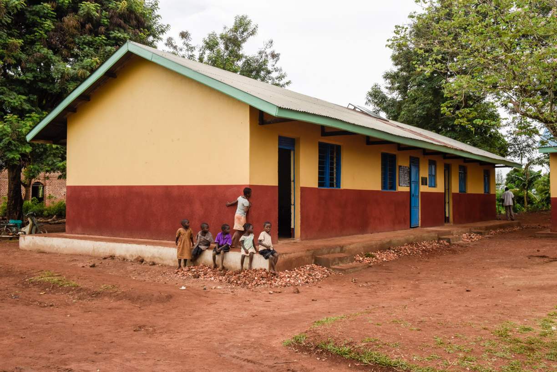 Block of 2.5 classrooms renovated