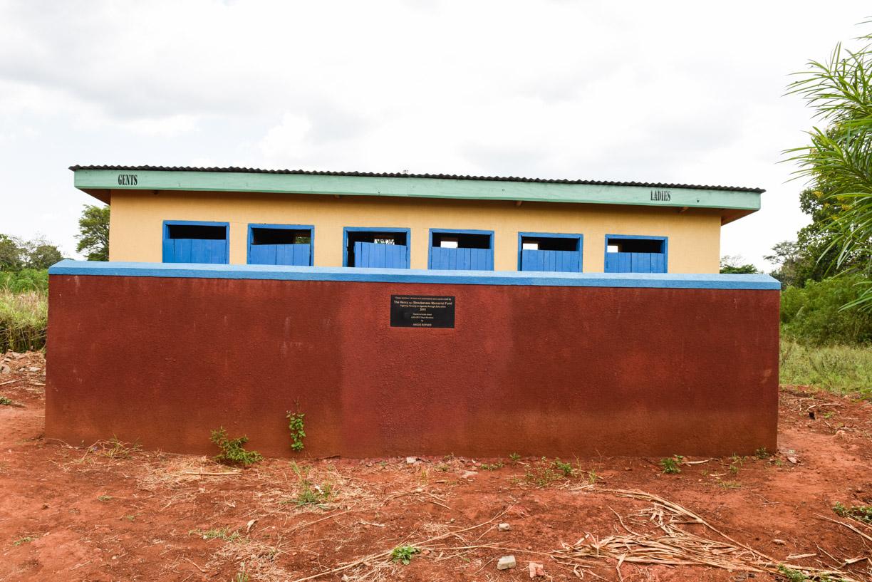 new teachers' latrines and washrooms