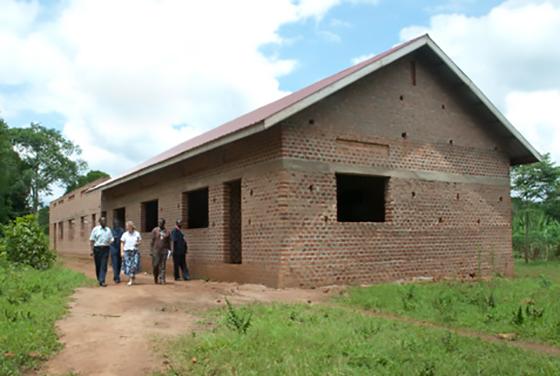 2 unfinished girls dormitories