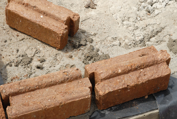 Interlocking Stabilised Soil Bricks