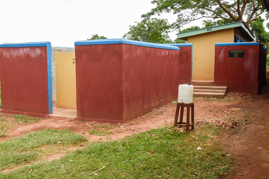 New boys latrines and washrooms