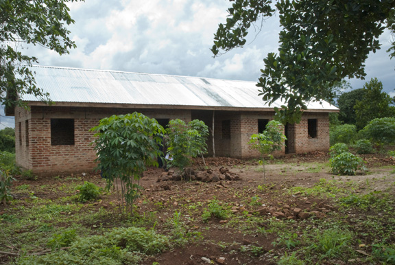 3 unfinished teachers houses