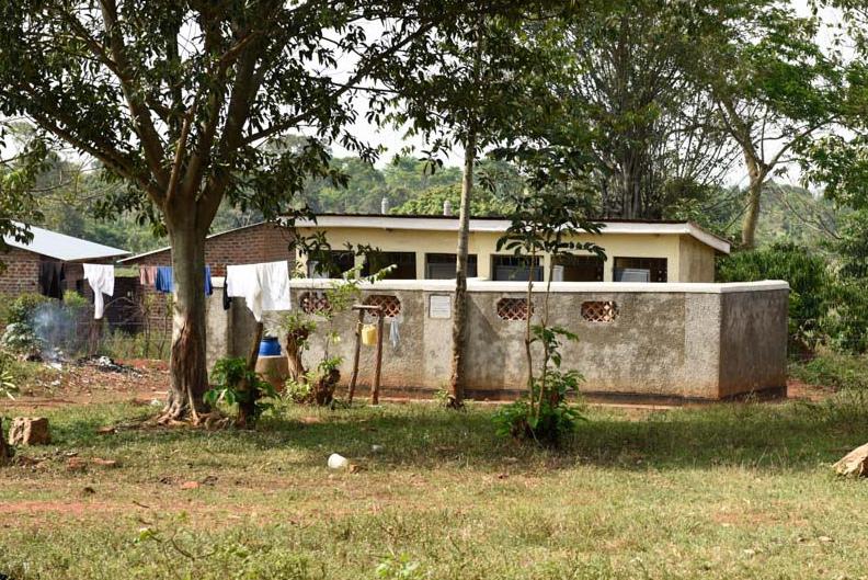 Ugandan girls latrines