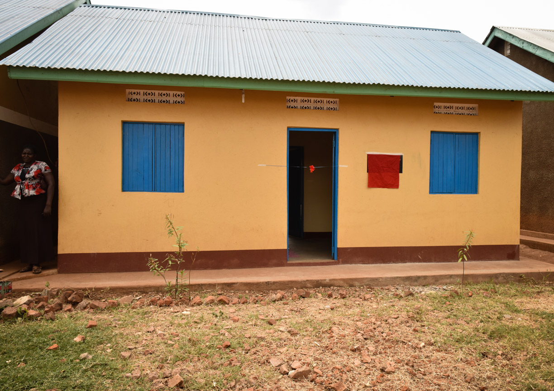 Renovated head teacher's house