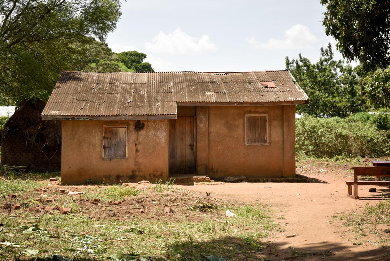 typical Uganda teachers house
