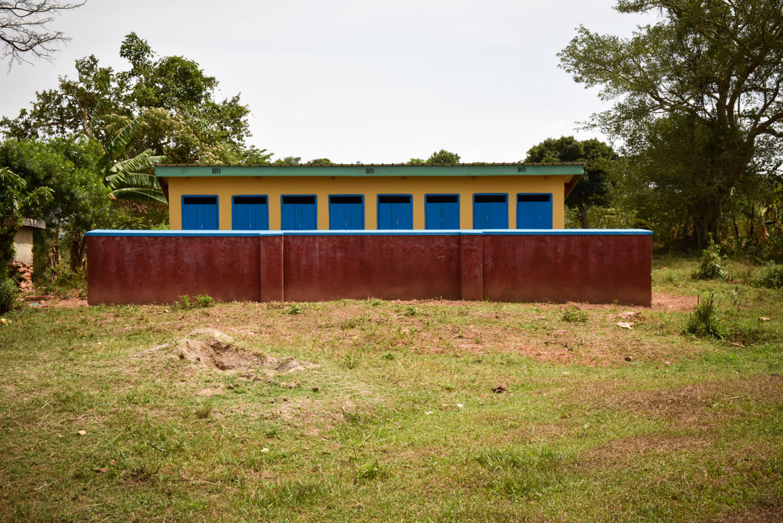 HvSMF boys' latrines